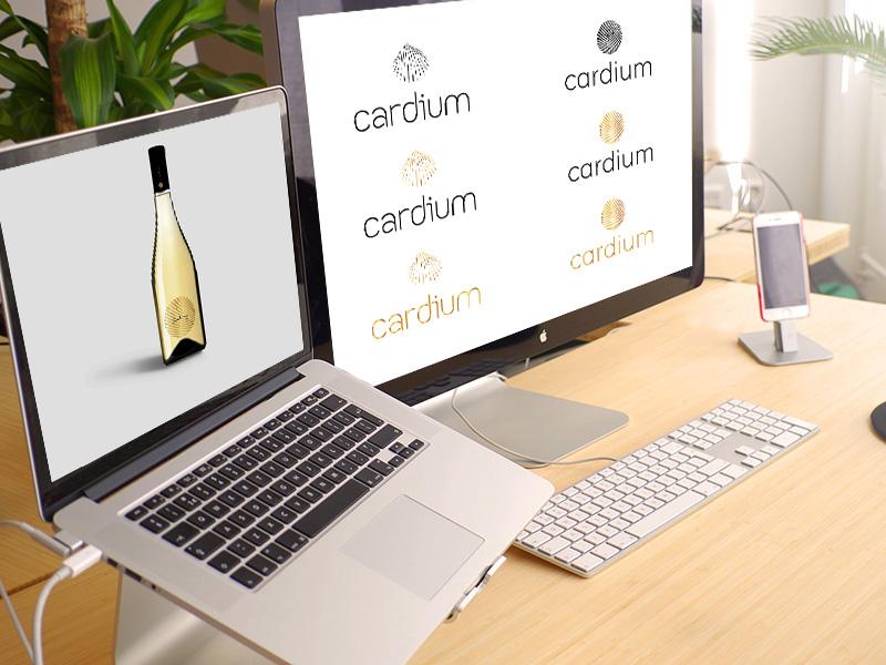 Cardium arculat és címketervezés
