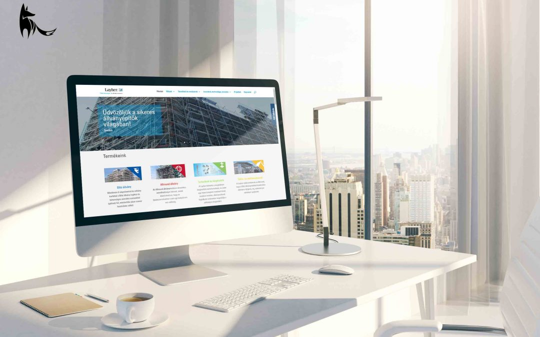 Layher weboldal