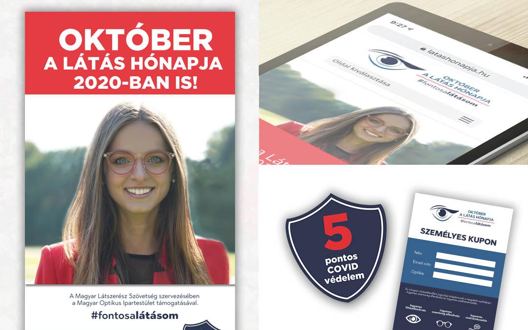 Október a Látás Hónapja 2020 kampány