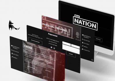 RX Nation weboldal
