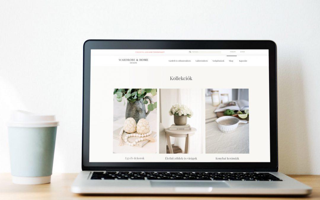 Wardrobe & Home webshop